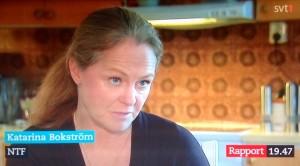 Katarina Bokström, representerande NTF, en utpräglad hyckleriinrättning, uttrycker en förvirrad oro över promille. Det är ju istället Gunnar Malms vägsaltning som är brottslig och vilken är orsak till praktiskt taget alla trafikskador i vinterväglag.