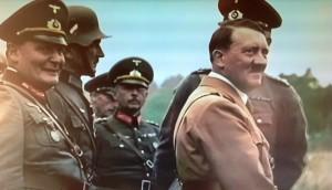Hitler har ifrågasatts emedan han påstås ha tillgripit kemiska medel.