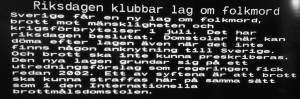 Nu ligger saltbödlarna, saltdrönarna, saltmarodörerna risigt till. En landshövding i Västerås har definitivt anknytning till Sverige.