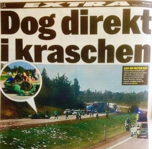 Rätt att de drog i kraschen. Nu slipper Sverige kostnader för lagföring och för bostad i fängelse.