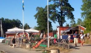 Solsidan Café Bistro Catering i Askfatshamnen Dalarö