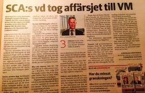 Dagens Industri synes ifrågasätta Jan Johansson, en av Sveriges största ledare och tillgångar för välfärden.