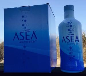 Min första förpackning av ASEA.