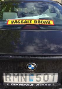 Också ägare till bakhjulsdriva BMW hatar vägsalt.